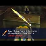gilded sword