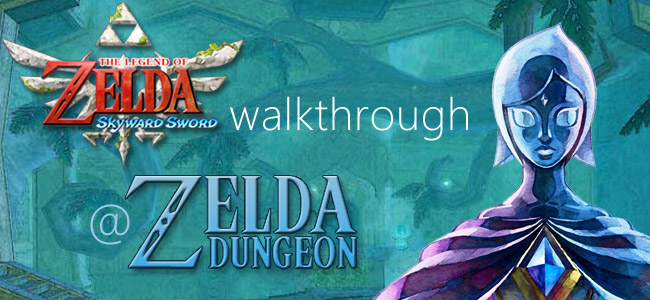skyward sword walkthrough