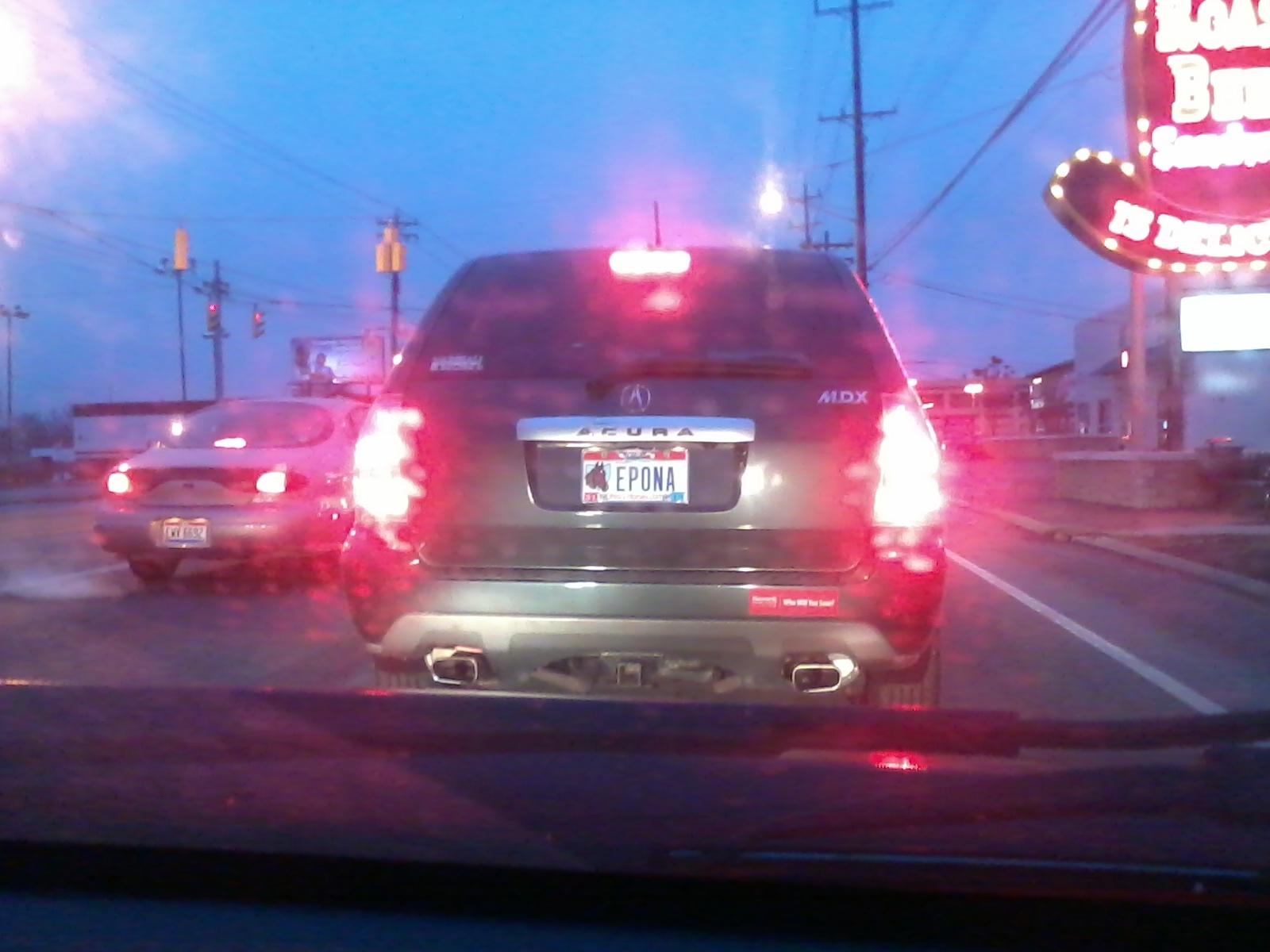 epona license plate