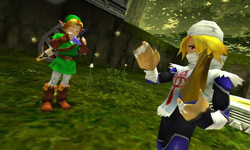 ocarina of time 3ds boss mode