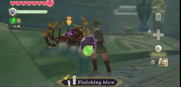 zelda finishing blow