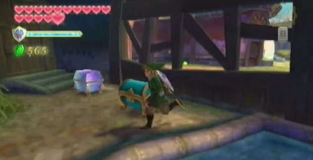 skyward sword heart piece locations