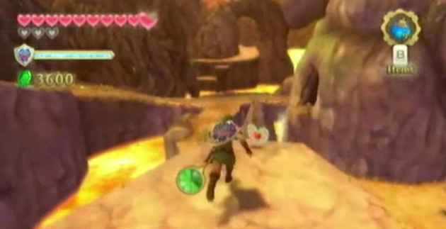 skyward sword heart locations
