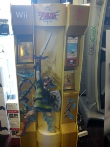 skyward sword display