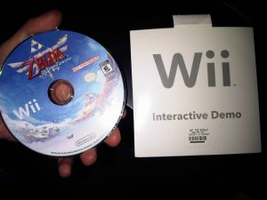 skyward sword demo disk sale