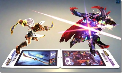 Kid Icarus: Uprising Comes With Six AR Cards