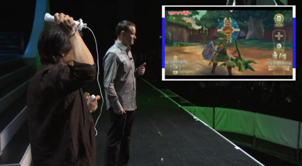 Miyamoto Played Harder Version of Skyward Sword