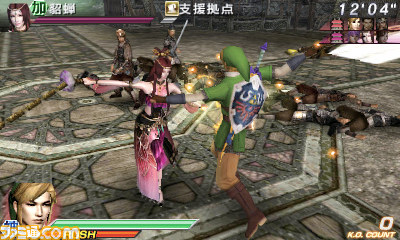 Link Costume Appearing in Dynasty Warriors Vs