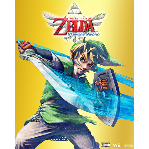 Skyward Sword Themed Gamestop Rewards Poster