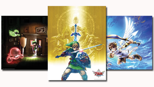 Zelda Poster Included in Club Nintendo's 2012 Platinum Reward