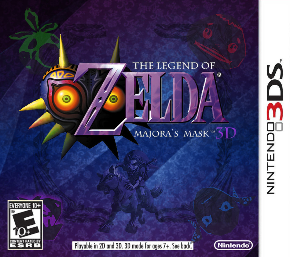Majora's Mask 3D cover fake