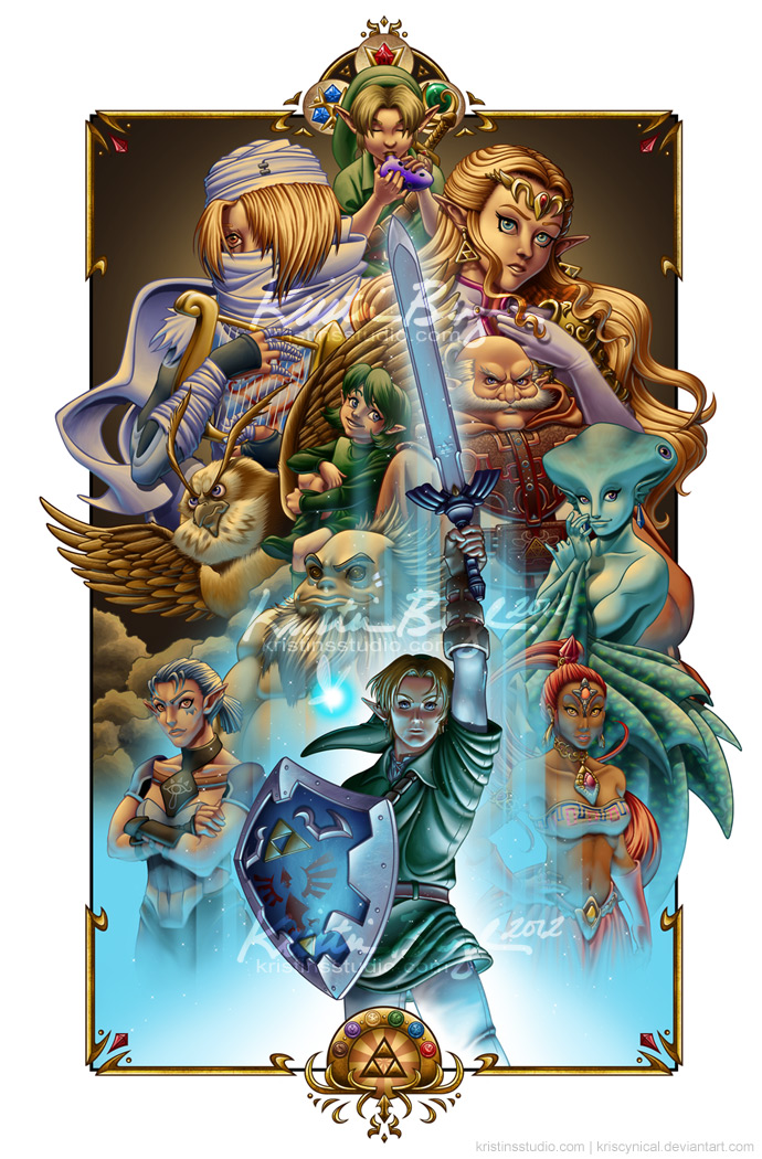 the_six_sages___ocarina_of_time_compilation_by_kriscynical-d5asukx