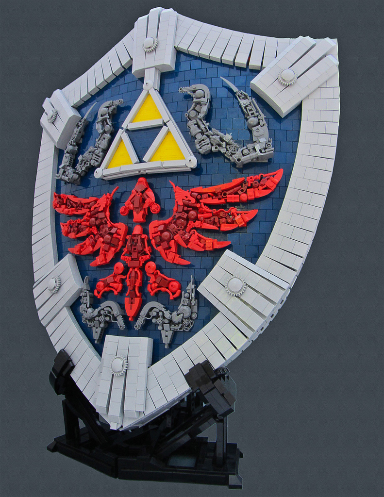 hylian shield legos