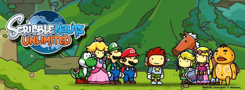 Scribblenauts Unlimited includes Legend of Zelda characters