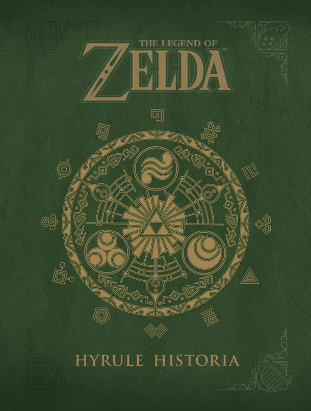 Hyrule Historia's New Cover