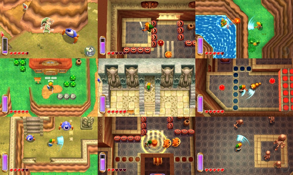 a link between worlds walkthrough hidden triforce