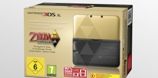 Zelda Themed 3DS XL Released With A Link Between Worlds