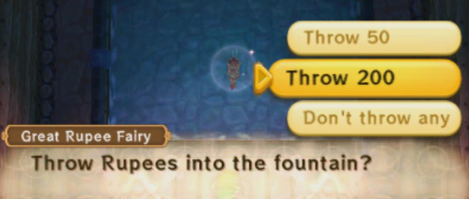 a link between worlds fairy fountain bottle