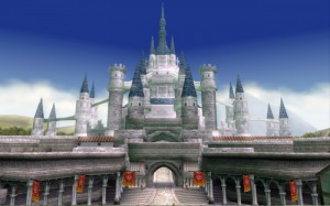 hyrule castle twilight princess