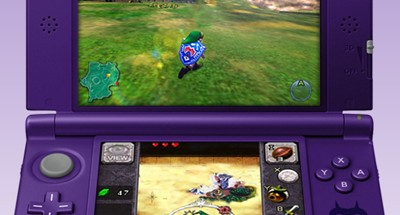 Mock up of Majora's Mask 3Ds