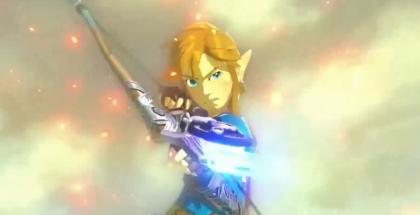 He's a-firing his laser?