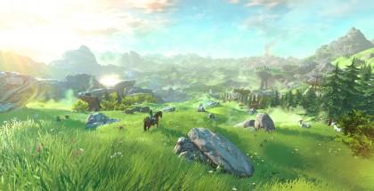 Zelda U Background