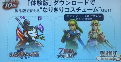 chronicle hyrule warriors