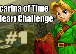 ocarina of time three heart challenge