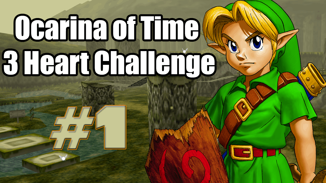 ocarina of time three heart challenge