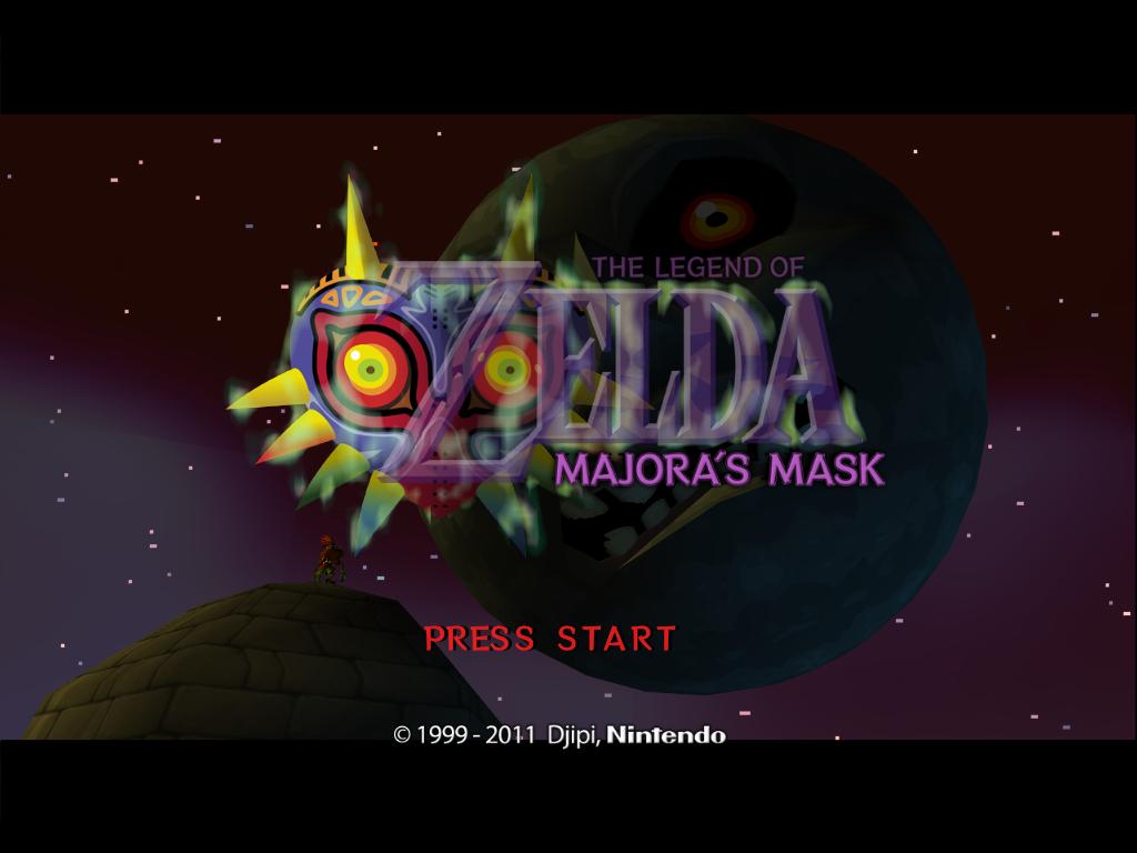 majoras mask title screen