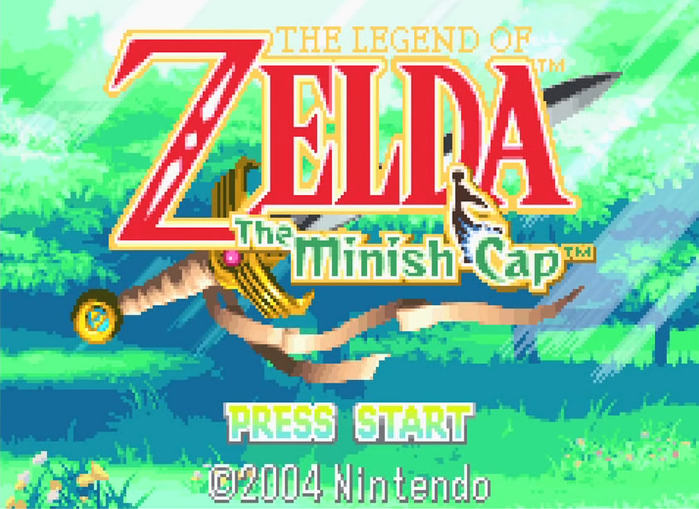minish cap title screen