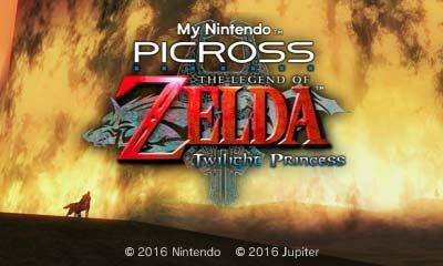twilight princess hd picross