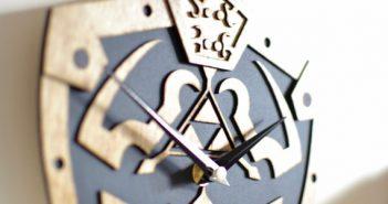 Hylian Shield Clock