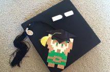 Legend of Zelda Grad Cap