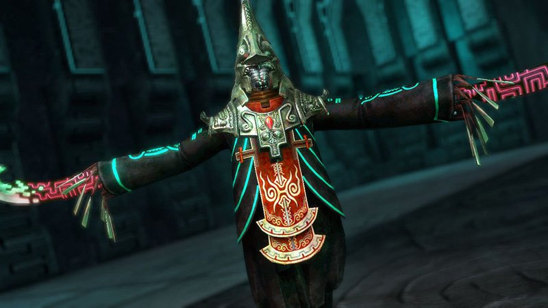 Screenshot of Zant from Hyrule Warriors