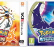 Pokemon Sun and Moon Box Art