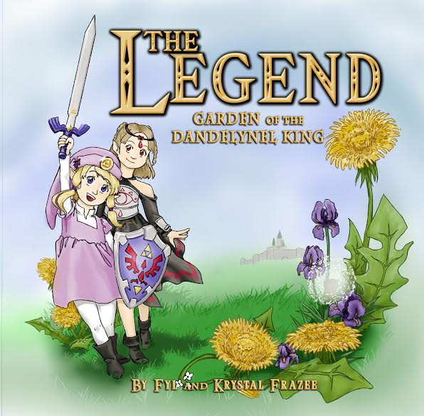 The Legend: Garden of the Dandelynel King Cover Art