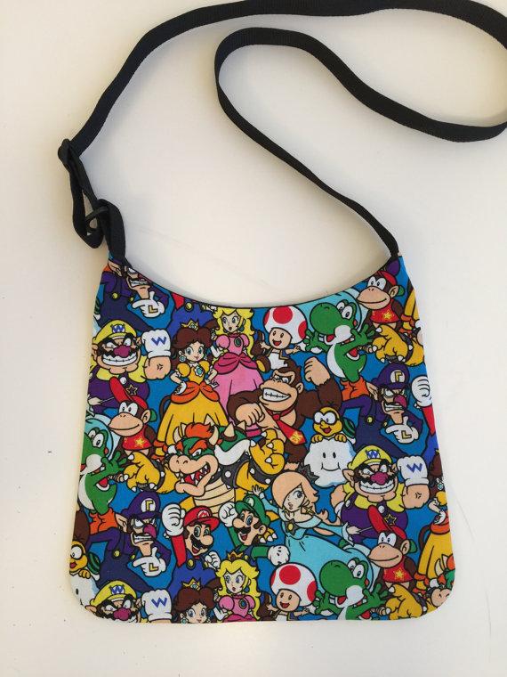 ARPCreations Super Mario Bros Bag