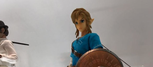 Real Action Heroes Breath of the Wild Link