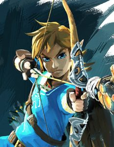 Breath of the Wild Official Art