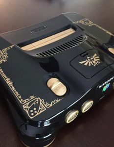 Custom Painted Nintendo 64 by Etsy Shop AirEffex