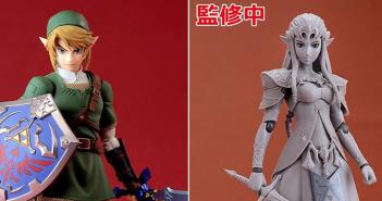 Twilight Princess Link and Zelda Figma Figures