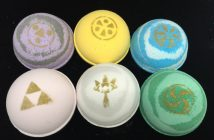 Fizzy Fairy Apothecary's Legend of Zelda Bath Bombs
