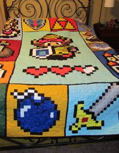 Etsy User McFrogling's Zelda Quilt