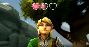 """Link in """"Link's Health Trouble"""""""
