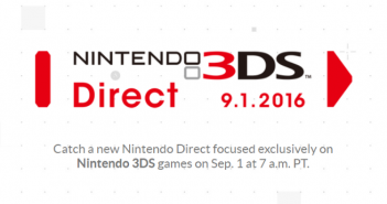 Nintendo 3DS Direct Banner
