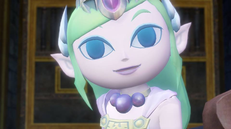 Toon Zelda in Hyrule Warriors