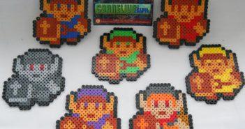 Hyrule Warriors Link Perlers by Cornelius Pixel Crafts