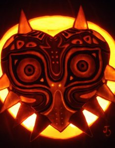 Johwee's Majora's Mask Jack-O-Lantern
