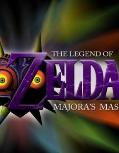 Majora's Mask Logo Art
